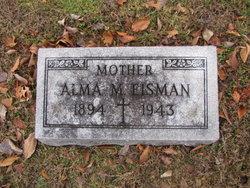 Alma Marie <I>Klosterman</I> Eisman