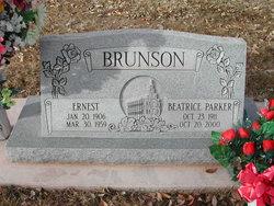 Beatrice <I>Parker</I> Brunson