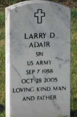 "Larry Dale ""Haney"" Adair"