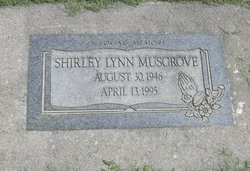 Shirley Lynn <I>Creech</I> Musgrove