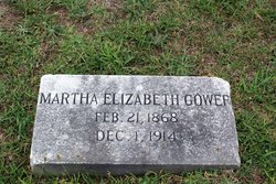 Martha E <I>Bagwell</I> Gower