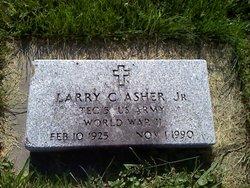 Sgt Larry Asher, Jr