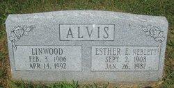 Ester Elizabeth <I>Neblett</I> Alvis
