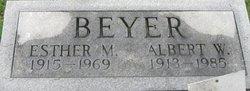 Albert W Beyer
