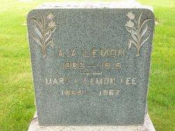 Mary Elizabeth <I>Lowe</I> Lee