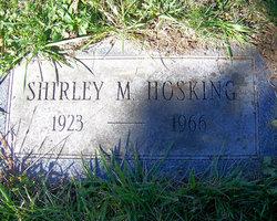 Shirley M Hosking