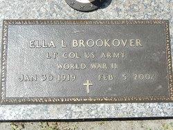 LTC Ella L Brookover