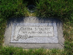 Aletha Jane <I>Steed</I> Talbot