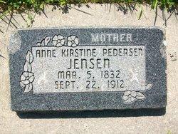 Anne Kirstine <I>Pedersen</I> Jensen