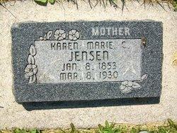 Karen Marie <I>Christiansen</I> Jensen