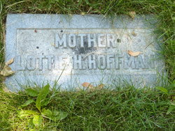 "Charlotte ""Lottie"" <I>Higbee</I> Hoffman"