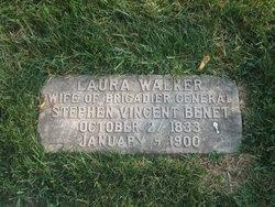 Laura <I>Walker</I> Benet