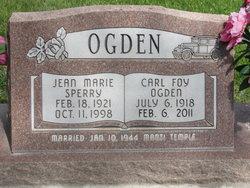 Jean Marie <I>Sperry</I> Ogden