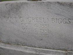 Dove Creel <I>Casey</I> Biggs