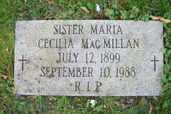 Sr Maria Cecilia MacMillan