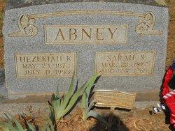 "Hezekiah Kizer ""Bud"" Abney"