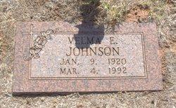 Velma Elaine <I>Burge</I> Johnson