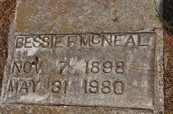 Bessie F McNeal