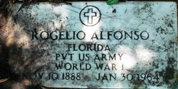 Pvt Rogelio G. Alfonso