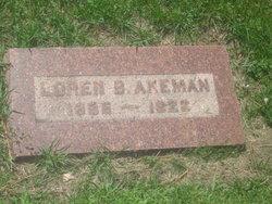 Loren B Akeman