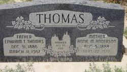 Ephraim T Thomas