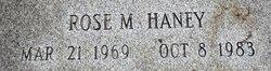 Rose Marie Haney