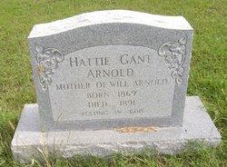 Hattie <I>Gant</I> Arnold