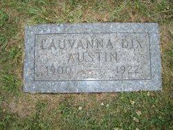 Lauvanna <I>Dix</I> Austin