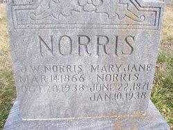 """John William """"J.W."""" Norris"""