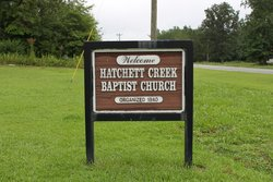 Hatchett Creek Baptist Church Cemetery