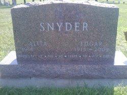 "Edgar Theodore ""Ed"" Snyder"