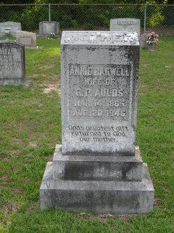 """Cynthia Anne """"Annie"""" <I>Bagwell</I> Aulds"""