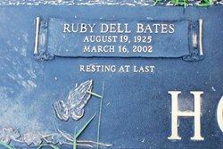 Ruby Dell <I>Bates</I> Hodge