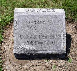Emma E. <I>Robinson</I> Cowles