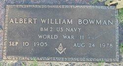 Albert William Bowman