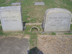Naomi <I>Williams</I> Agee