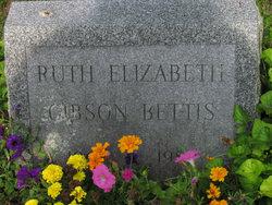Ruth Elizabeth <I>Gibson</I> Bettis