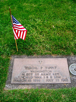 Virgil p tippit 1898 1965 find a grave memorial for Evergreen memorial gardens vancouver wa