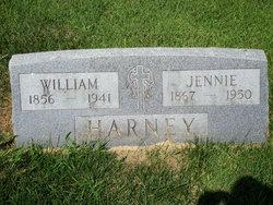 """Genevieve Jane """"Jennie"""" <I>Harrold</I> Harney"""