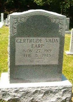 Gertrude Vada <I>Danner</I> Earp
