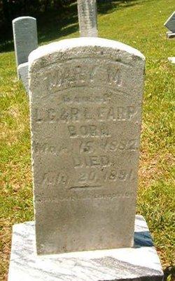 Mary M Earp