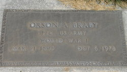 Orson Albert Braby