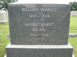 Harriet <I>Hewitt</I> Bennett