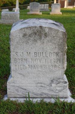 Silas James Madison Bullock