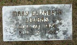 Mary Elizabeth <I>Hunter</I> Lovaas