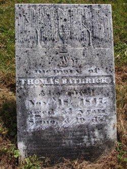 Thomas Bathrick