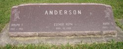 Esther Ruth Anderson