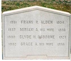 Frank R Alden