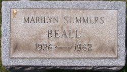 Marilyn <I>Summers</I> Beall