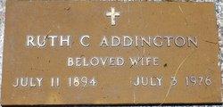 Ruth F <I>Crosser</I> Addington